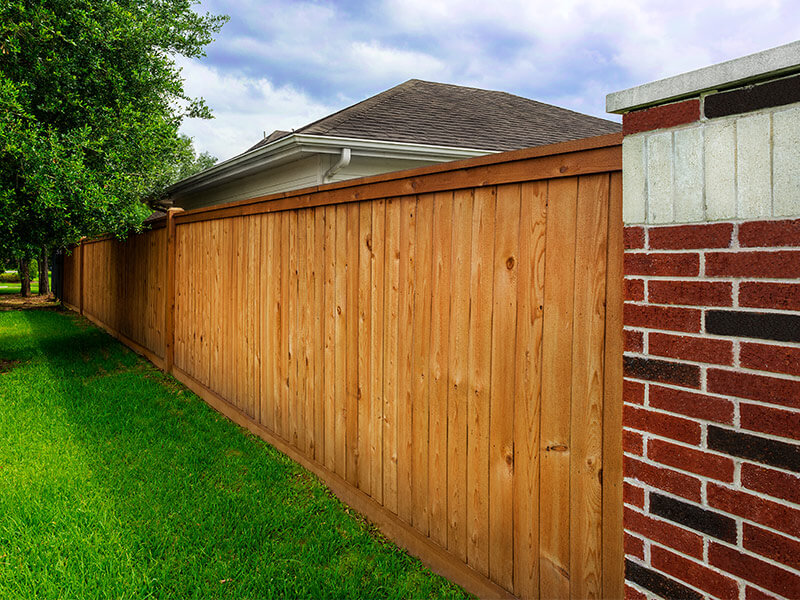 Why Texas Fence Uses Wood Defender Stain Sealant